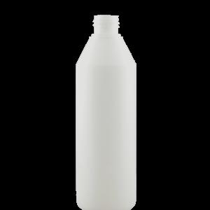 500 ml plastflaske 28 mm kapsel