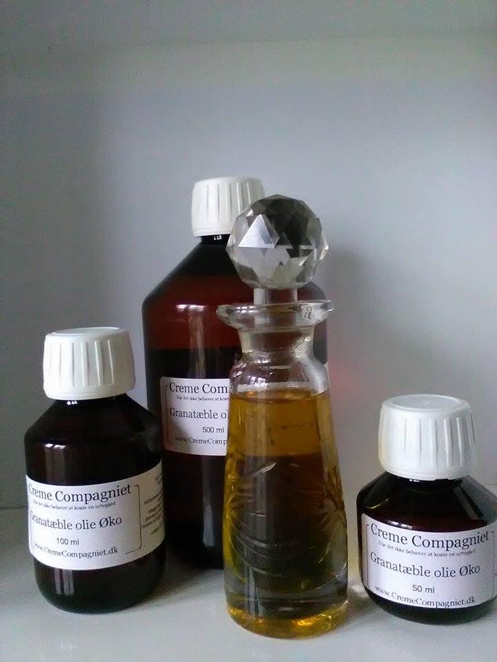 Granatæble olie øko
