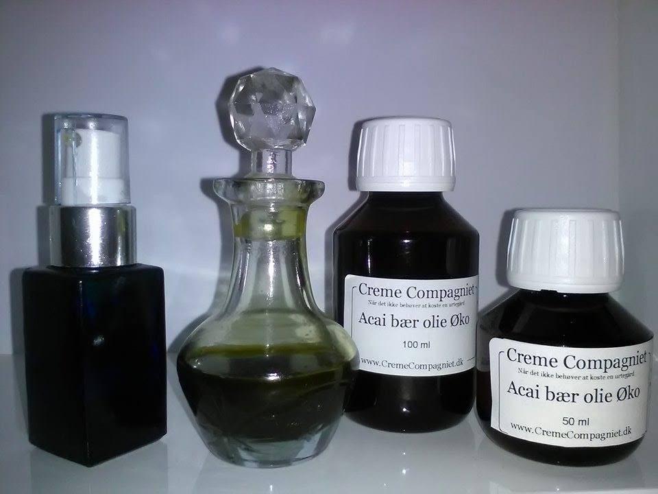 Acaibær olie Økologisk