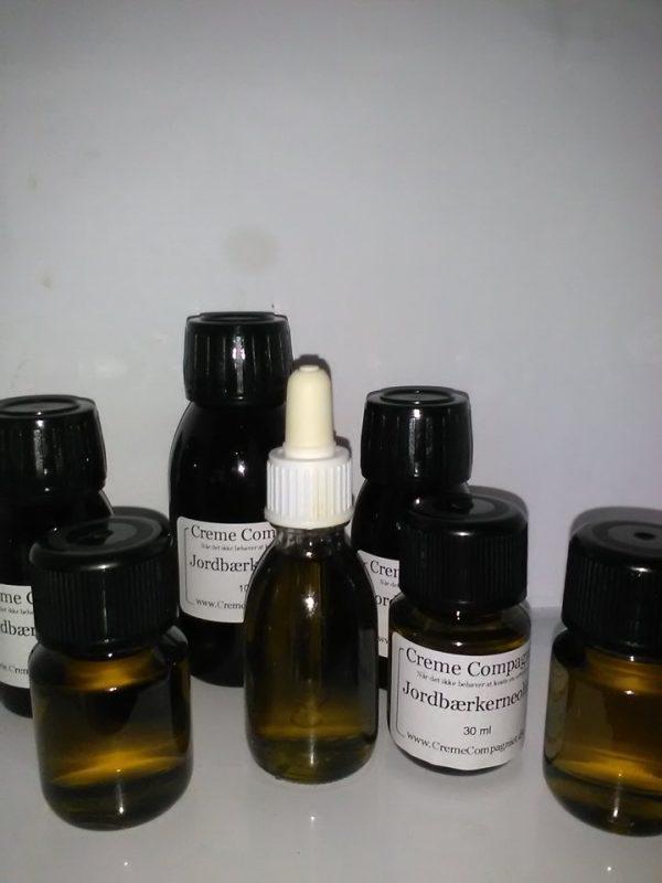 jordbærkerne olie koldpresset