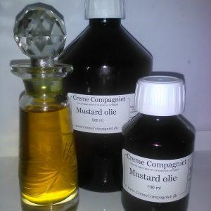 Mustard olie koldpresset