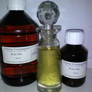Rose olie