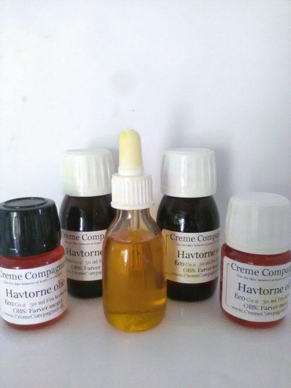 havtorne kerne olie Bio