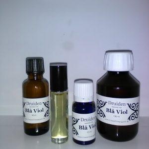 Blå viol essentiel olie