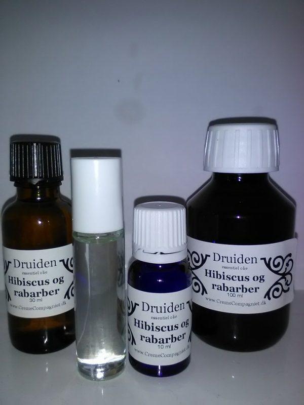 Hibiscus og rabarber essentiel olie