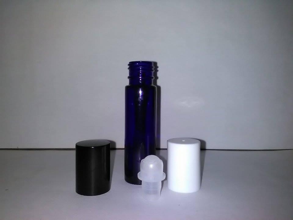 10 ml blå glas roll on