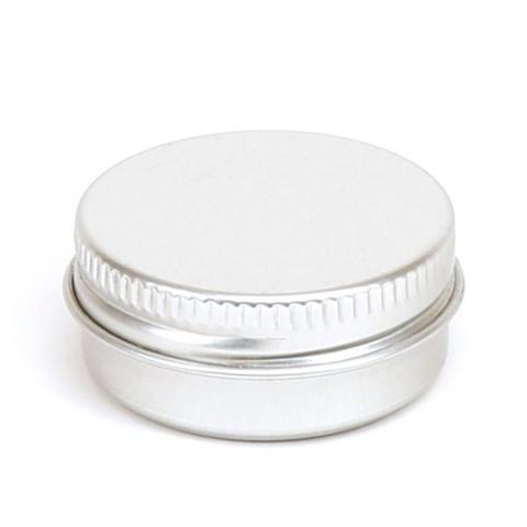 15 ml alu krukke med rillede kanter