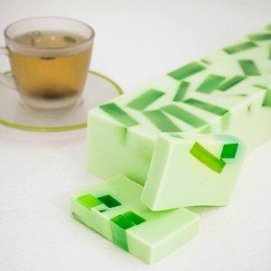 Sæbe med grøn the og lime