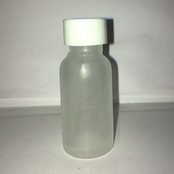 15 ml Frosted glasflaske