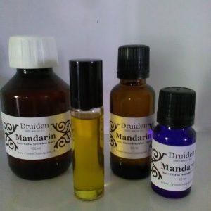 Mandarin rød æterisk olie