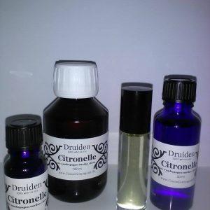 Citronelle æterisk olie