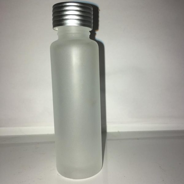 25 ml Frosted glasflaske