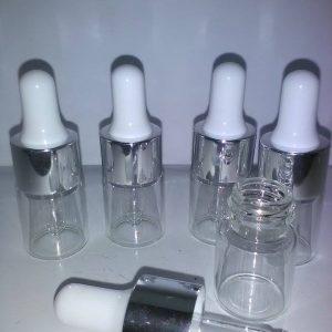 5 ml pipette flaske i glas