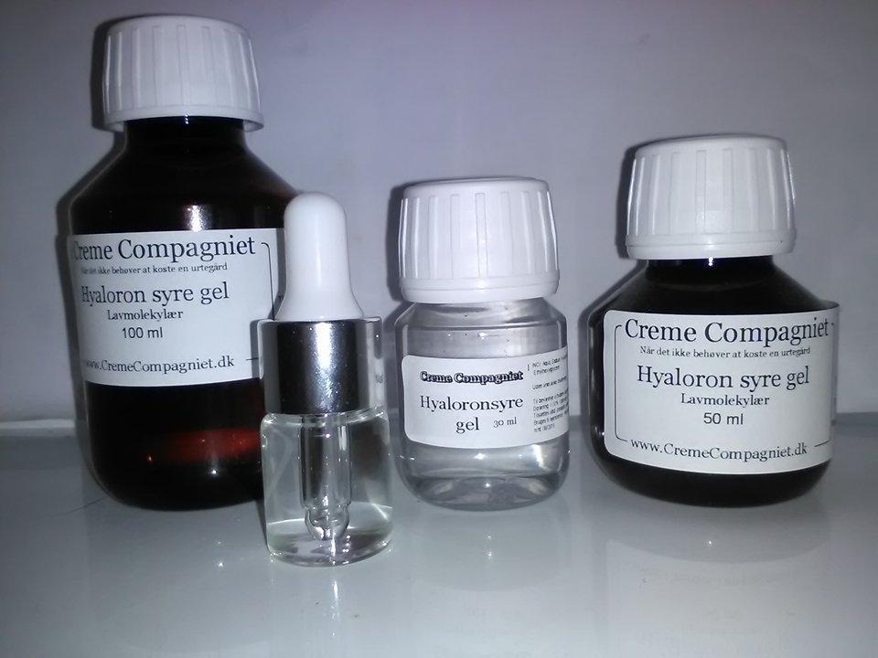 Hyaloronsyre gel