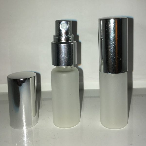5 ml Frosted glas med spray