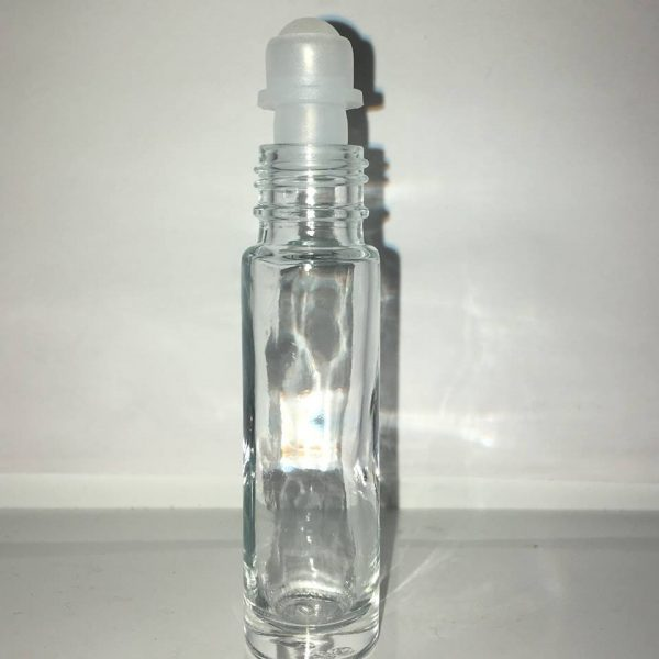 10 ml roll on i klar glas