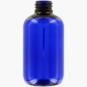 100 ml blå plastflaske 20/410