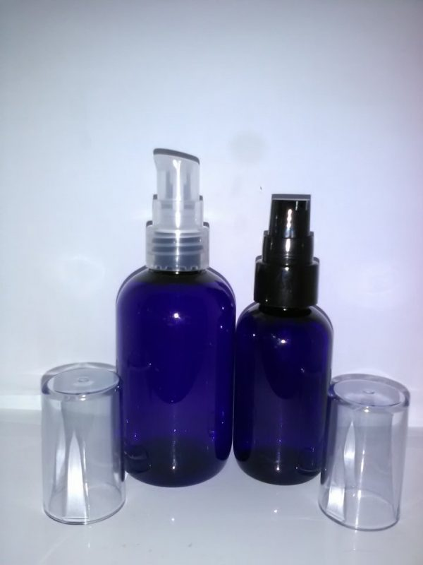 50 og 100 ml blå serumflasker