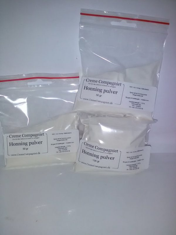 Honning pulver spraytørret