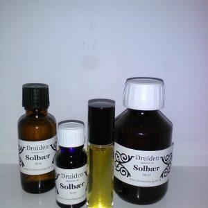 Solbær essentiel olie