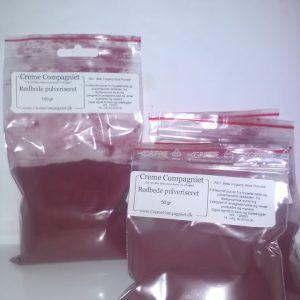 Rødbede pulveriseret