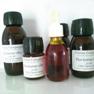 Havtornefrugt olie