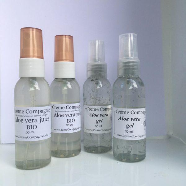 aloe vera juice og gel vareprøver