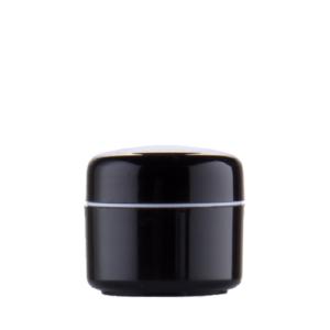 5 ml sort plastkrukke
