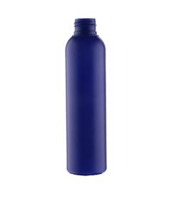 150 ml farvet blå plastflaske 24/410